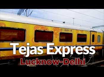 Tejas Express Lucknow-Delhi : देश की पहली प्राइवेट ट्रेन में मिलेगा इतना सब कुछ, ये है किराया