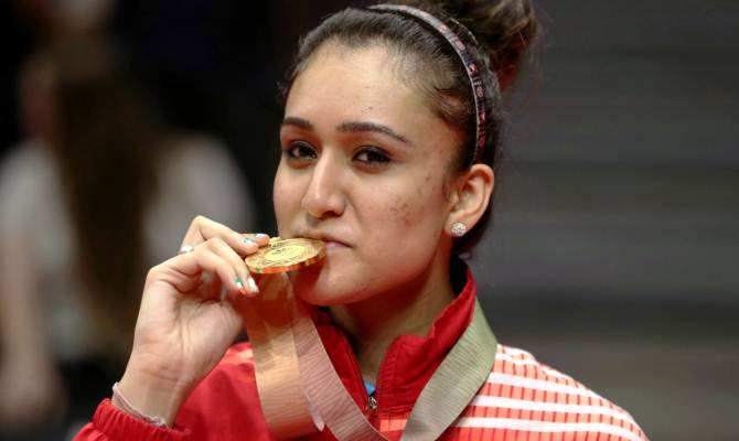 CWG 2018: टेबल टेनिस में गोल्ड मेडल जीतकर मनिका बत्रा ने रचा इतिहास