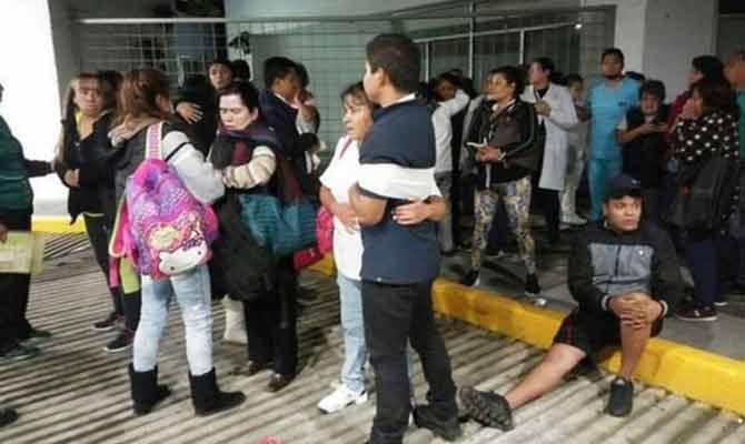 मैक्सिको में 8.1 तीव्रता वाला भूकंप,सूनामी की चेतावनी