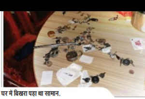 गोरखपुर में कार, बाइक, नकदी, गहने सब ले गए चोर