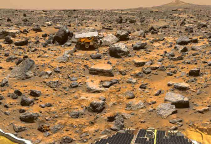 आज ही मंगल पर भेजी गई थी पहली स्पेस कार, जिसने दिखाई लाल ग्रह की सबसे रोमांचक तस्वीर