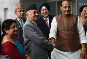 नेपाली पीएम केपी ओली तीन दिन की भारत यात्रा पर दिल्ली पहुंचे