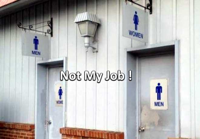 Not My Job! कहने वालों ने कर डाले ऐसे कारनामे, जिन्हें देख हंस रही है पूरी दुनिया