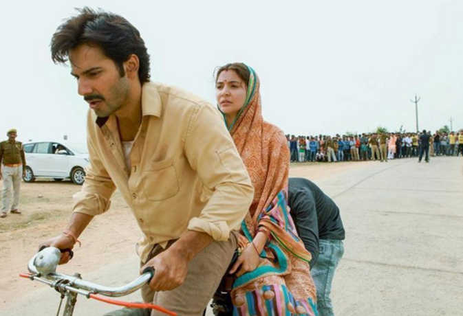 pm मोदी के मेक इन इंडिया कैंपेन को समर्पित वरुण और अनुष्का की सुई-धागा