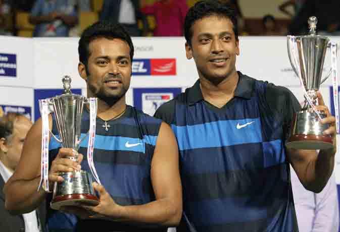 पेस-भूपति की जोड़ी ने ही इंडियन टेनिस को दिखाए थे 'अच्छे दिन'