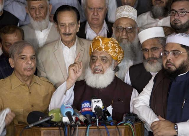 पाकिस्तान चुनाव : इमरान के विपक्षियों ने चुनाव परिणाम को किया खारिज, फिर से इलेक्शन कराने की मांग