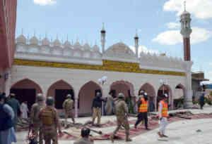 पाकिस्तान : मस्जिद में बम विस्फोट, चार मरे और 25 घायल