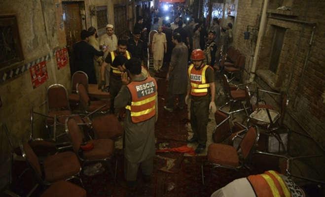 पाकिस्तान में चुनावी रैली के दौरान आत्मघाती हमला,anp नेता समेत 20 की मौत