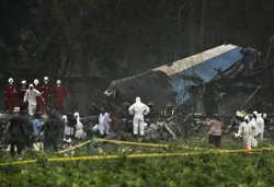 क्यूबा में यात्री विमान दुर्घटनाग्रस्त, 100 से अधिक लोगों की मौत