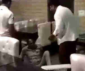 दरोगा को पीटने वाले रेस्टोरेंट मालिक बीजेपी नेता पर मुकदमा दर्ज
