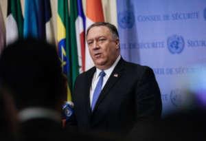 अमेरिका चाहता है कि संयुक्त राष्ट्र ईरान द्वारा बनाये जा रहे परमाणु हथियार पर लगाए प्रतिबंध