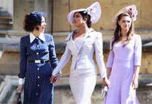 रॉयल वेडिंग: प्रिंस हैरी और मेगन मर्केल की शादी में बेहद अलग नजर आईं प्रियंका चोपड़ा