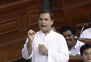 प्रधानमंत्री पर राहुल गांधी ने साधा निशाना, कहा मोदी चौकीदार नहीं भागीदार