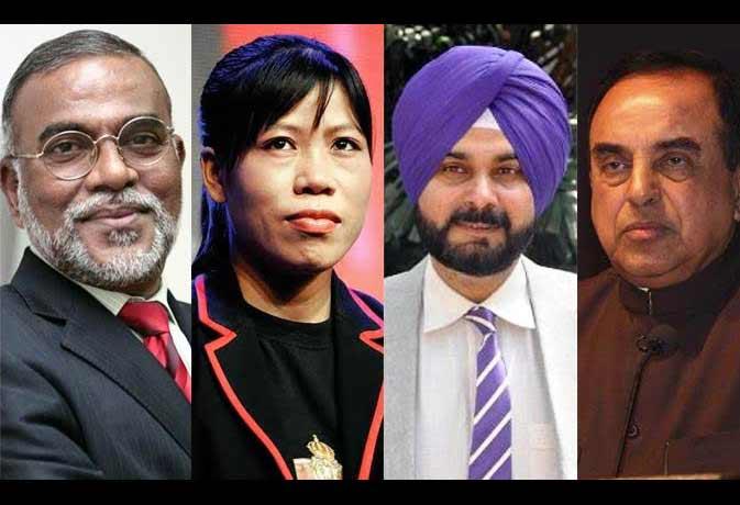 मिलिए, नरेंद्र मोदी सरकार की ओर से मनोनित किए गए इन 6 राज्यसभा सांसदों से