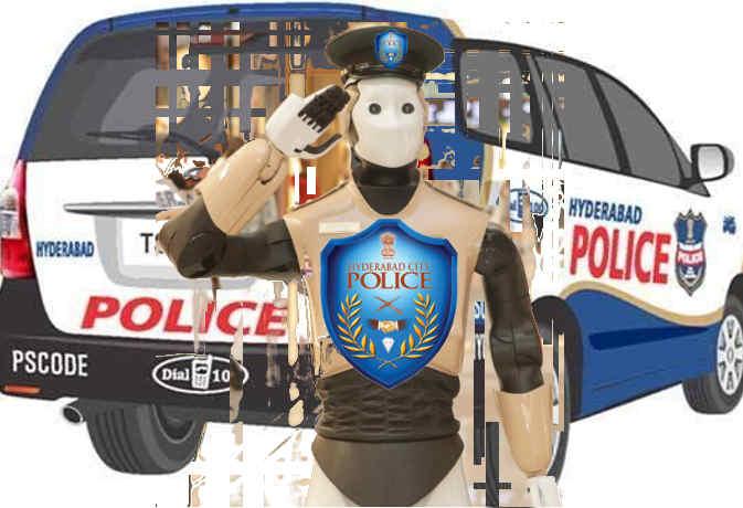 स्मार्ट पुलिसिंग : हैदराबाद में लांच देश का पहला रोबोकॉप, इंसानों से बात करेगा और संदिग्धों को धर दबोचेगा
