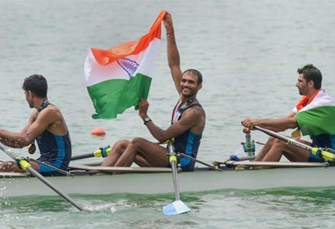 एशियन गेम्स में भारत के रोइंग टीम को गोल्ड, भारत के पास अब 21 पदक