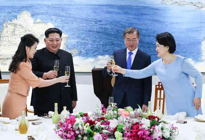 कोरियाई शिखर वार्ता : उत्तर कोरिया ने कहा परमाणु निरस्त्रीकरण से शुरू होगा शांति का नया युग