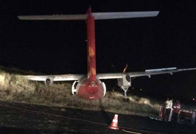 फिर MP में विमान से टकराए सुअर,  टला बड़ा हादसा