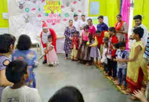 सचिन तेंदुलकर इन बच्चों के लिए सांता क्लॉज बनकर पहुंचे क्रिसमस मनाने