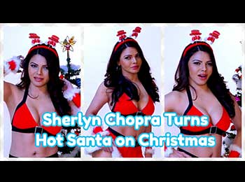 Merry Christmas 2019: क्रिसमस पर शर्लिन चोपड़ा बनीं हॉट सांता, कराया ग्लैमरस फोटोशूट