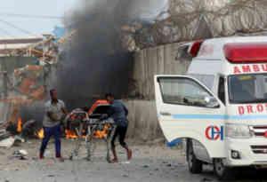 सोमालिया के होटल में आत्मघाती हमला, 39 की मौत और 40 घायल
