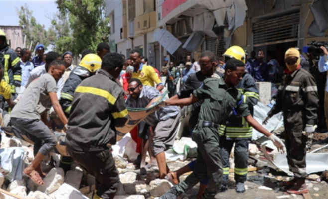 सोमालिया की राजधानी मोगादिशु में कार बम से किया धमाका,नौ लोगों की मौत और कई घायल