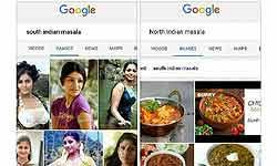 साउथ इंडियन मसाला सर्च करने पर Google पर दिखती हैं सिर्फ लड़कियां, अब भारतीय मांग रहे इसका जवाब