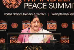 विदेश मंत्री सुषमा और फिजी के पीएम ने की रक्षा सहयोग पर चर्चा