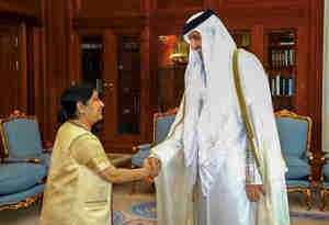 कुवैती सिंगर के भजन से सुषमा हो गईं मगन, बजाने लगीं तालियां