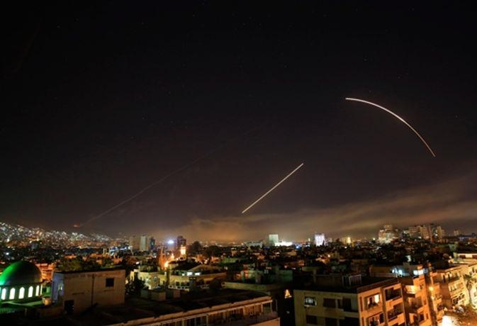 सीरियाई टीवी का दावा दो एयरबेस पर मिसाइल हमला नाकाम