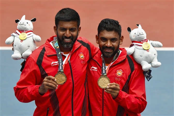 टेनिस में गोल्ड और शूटिंग में कांस्य, भारत को एशियन गेम्स में 23 पदक