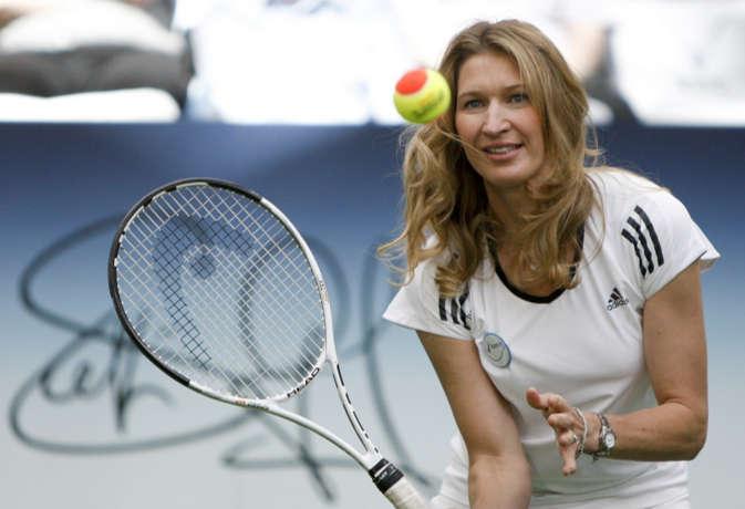 दुनिया की नंबर वन टेनिस खिलाड़ी स्टेफी ग्राफ, जिसने एक साल में जीते चारों ग्रैंड स्लैम