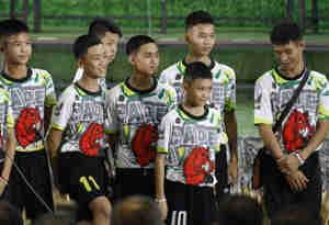 गुफा से बचाए गए तीन बच्चों और उनके कोच को मिली थाईलैंड की नागरिकता