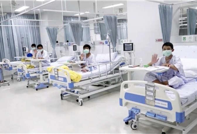 थाईलैंड : गुफा से बचाए गए बच्चों को मिलेगी अस्पताल से गुरुवार को छुट्टी