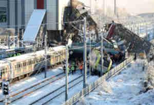 तुर्की में दो ट्रेनों के बीच टक्कर, चार की मौर और 43 घायल