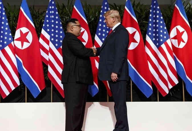 उत्तर कोरिया के साथ हमारा समझौता चीन के लिए अच्छा होगा : ट्रंप