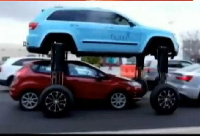 कमाल है यार! ट्रैफिक जाम में नहीं फंसती यह कार