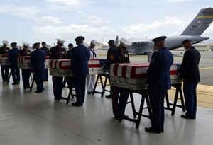 अमेरिका पहुंचा कोरियाई युद्ध में मारे सैनिकों का अवशेष, ट्रंप ने दिल से किया धन्यवाद