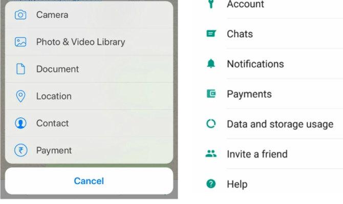 whatsapp पर ऐसे कर सकेंगे पेमेंट और फंड ट्रांसफर,ऐप पर यूं दिखा नया पेमेंट फीचर!