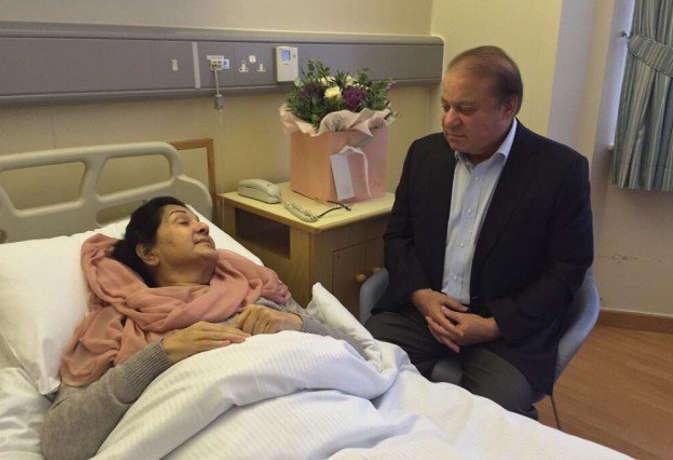 पूर्व पाकिस्तानी पीएम नवाज शरीफ की पत्नी को लंदन में कार्डियक अरेस्ट, हालत गंभीर