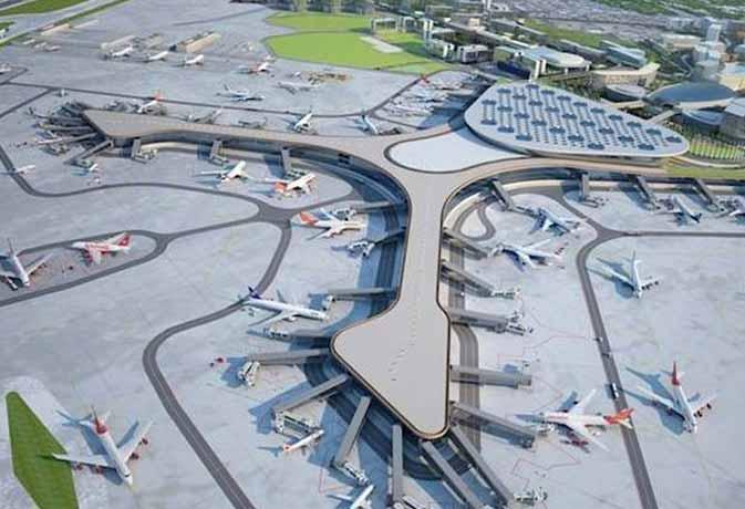 चार मंजिला है देश का सबसे बड़ा एयरपोर्ट, 100 विमान हो सकते हैं पार्क