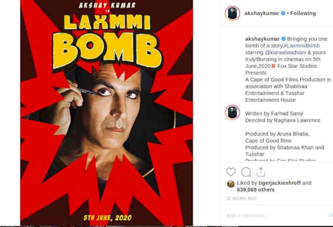 राघव लॉरेंस 'लक्ष्मी बम' के सेट पर करेंगे वापसी!
