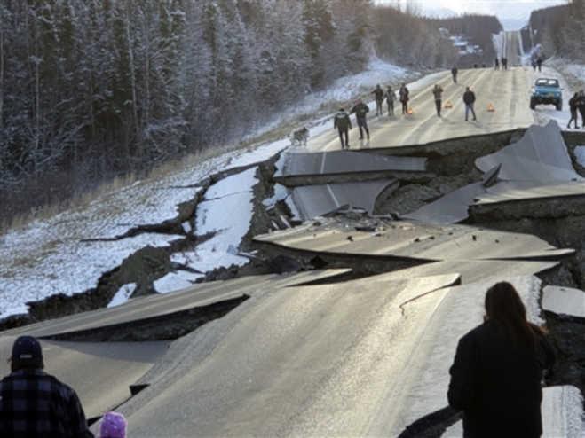 अलास्का में आया 7.0 तीव्रता का जबरदस्त भूकंप,तहस-महस हुआ इलाका