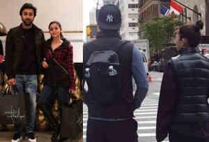 तस्वीरें : रणबीर-आलिया न्यूयॉर्क में साथ में कर रहे शॉपिंग, कहीं इसके लिए तो नहीं कर रहे तैयारी