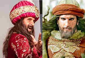 टीवी एक्टर रवि दुबे रणवीर सिंह को दे रहे कडी़ टक्कर, देखें अलाउद्दीन खिलजी के रूप में कौन है बेहतर
