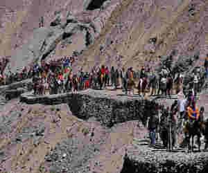 28 जून से अमरनाथ यात्रा :  सुरक्षा के कड़े इंतजाम, जम्मू-कश्मीर पुलिस ने की अतिरिक्त अर्धसैनिकों की मांग