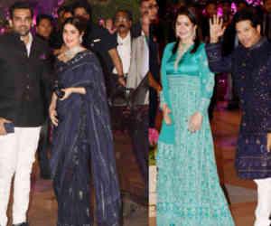 आकाश अंबानी की इंगेजमेंट पार्टी में पत्नियों संग पहुंचे ये भारतीय क्रिकेटर्स, दिखा अलग अंदाज