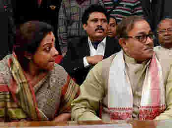 बीजेपी में शामिल हुए विभिन्न पार्टियों के नेता