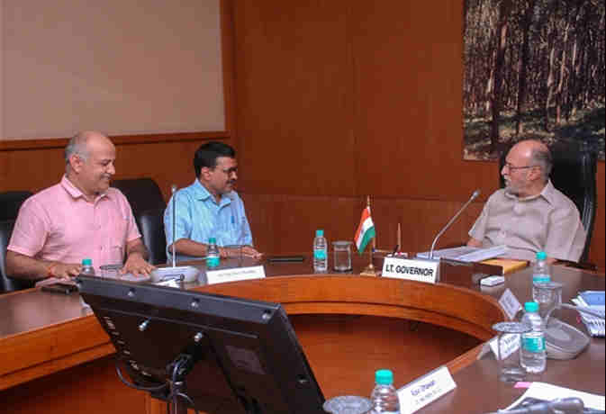 सीएम केजरीवाल से मीटिंग के बाद LG बैजल ने ट्वीट कर दिया भरोसा,  इन दो चीजों में रहेगा सपोर्ट