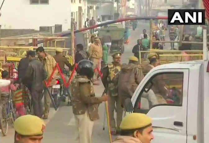 विवादित ढांचा विध्वंस की 26वीं बरसी : अयोध्या में चप्पे-चप्पे पर पुलिस तैनात, विहिप मनाएगी आज शाैर्य दिवस